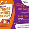 FORUM CUSTOMER EXPERIENCE DESIGN 2014 – Od emocji Klienta do zysków dla firmy już od jutra