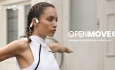 Aftershokz OpenMove z technologią przewodnictwa kostnego